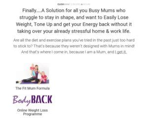 @ Bodyback Clickbank   The Fit Mum Formula - Btcile Com.