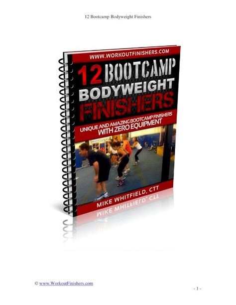[pdf] Bodyweight Chaos Finishers - Metabolic Finishers Workout .