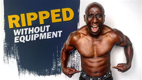 @ Bodyweight Ripped Hiit Workout No Equipment Needed .