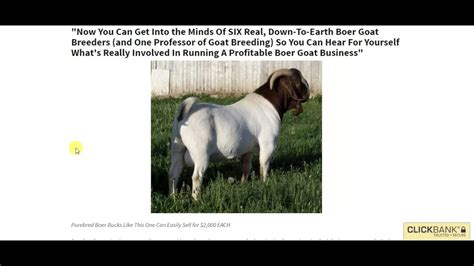 Boer Goat Profits Guide Power Pack Review - Youtube.