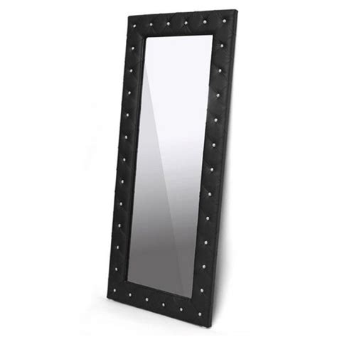 Bowery Hill Bowery Hill Floor Mirror In Black - Kmart Com.