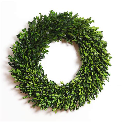 Boxwood Wreath Floral D Cor For Sale  Ebay.