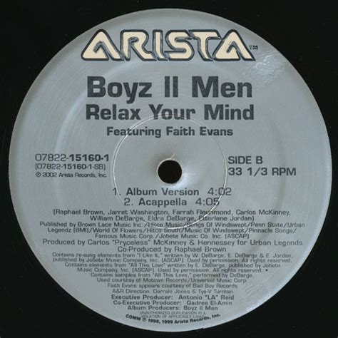 @ Boyz Ii Men - Relax Your Mind Feat Faith Evans .