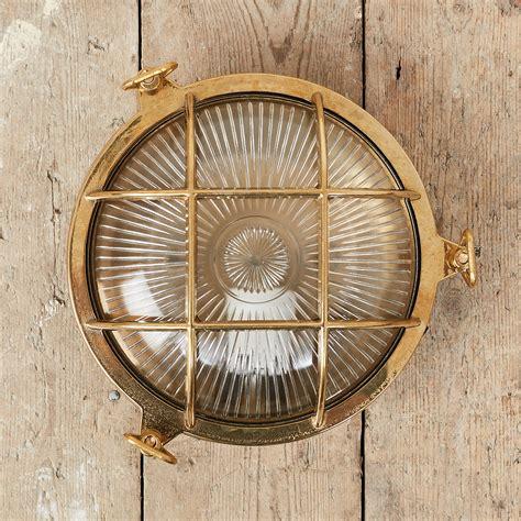 brass bulkhead light cat 2 office lighting