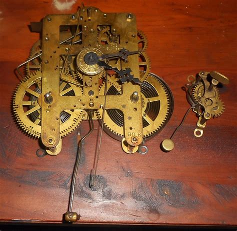 Brass Clock Movement Plans