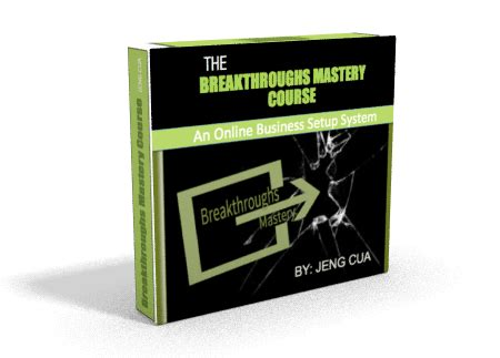 @ Breakthroughs Mastery Course Review - Sensei Review.