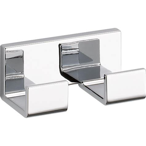 Brizo Vero  Double Robe Hook In Polished Chrome - 77736 .