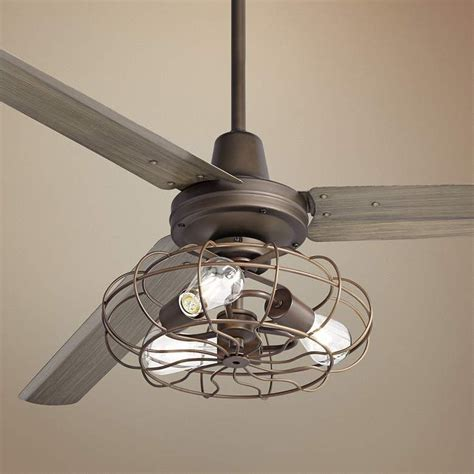 Bronze Caged Ceiling Fans  Lamps Plus.