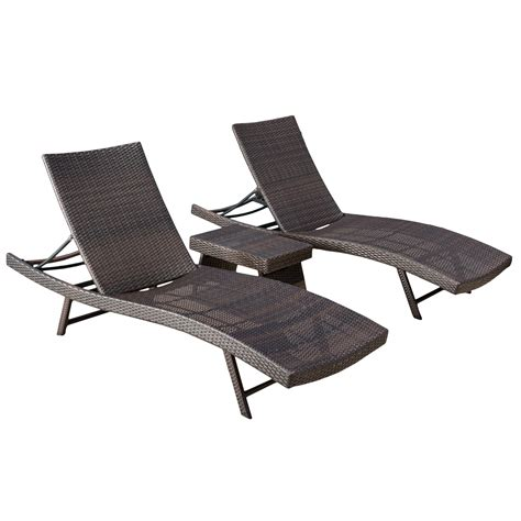 Brown Chaise Lounges - Walmart Com.