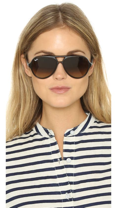 Brown Women's Ray Bans