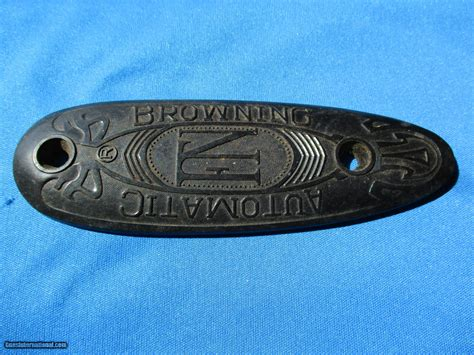 Browning A5 Fn Butt Plate Belgium Excelle For Sale.