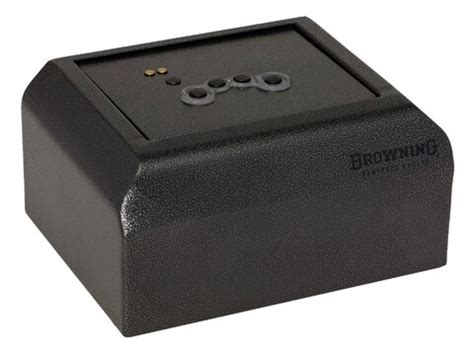 Browning Prosteel Pv1000 Pistol Vault Biometric Lock Black.