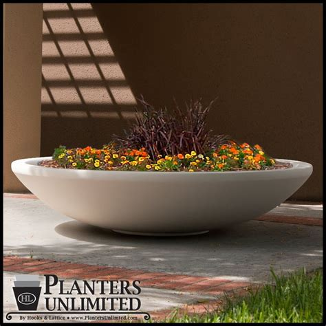 Browse Round Commercial Planters At- Planters Unlimited.