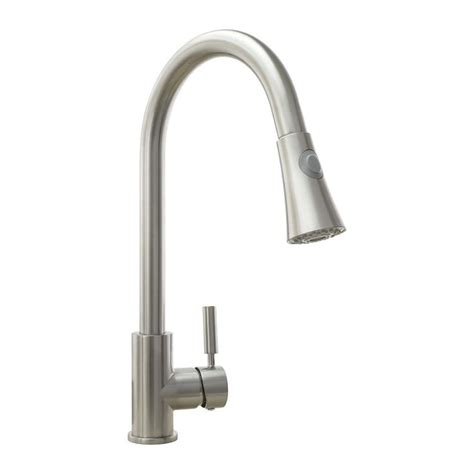 Brushed Nickel Kitchen Faucets You Ll Love  Wayfair.
