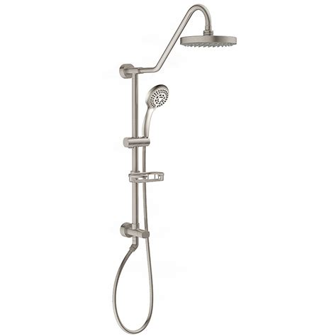 Brushed Nickel Shower Panels Shower Systems - Wayfair.