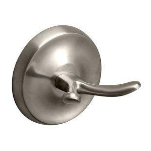 Brushed Nickel Towel  Robe Hooks You Ll Love  Wayfair.