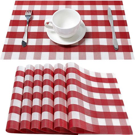 Buffalo Check Placemat Set Of 4 - Amazon Com.