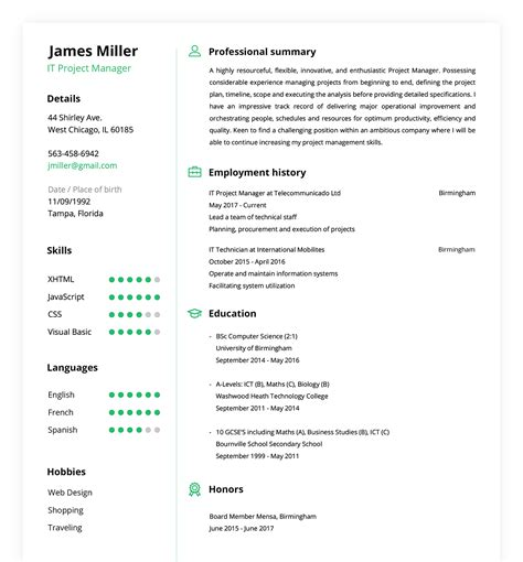 build my resume for free online - Build My Resume For Free Online