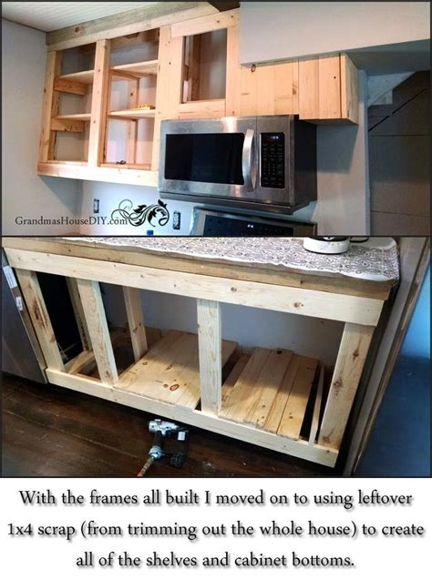 Build Your Own Kitchen Cabinets Cheap