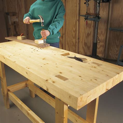 Building A Simple Garage Workbench