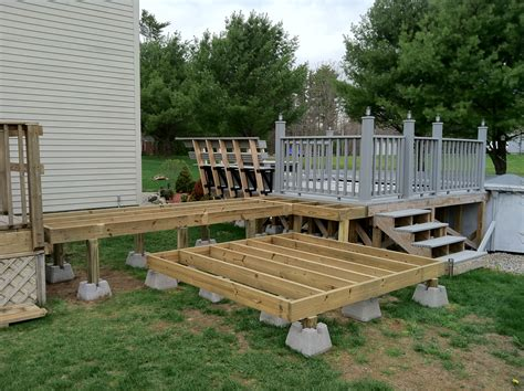 Building A Wood Deck For A Hot Tub