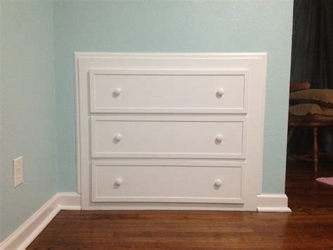 Built In Dresser Drawers