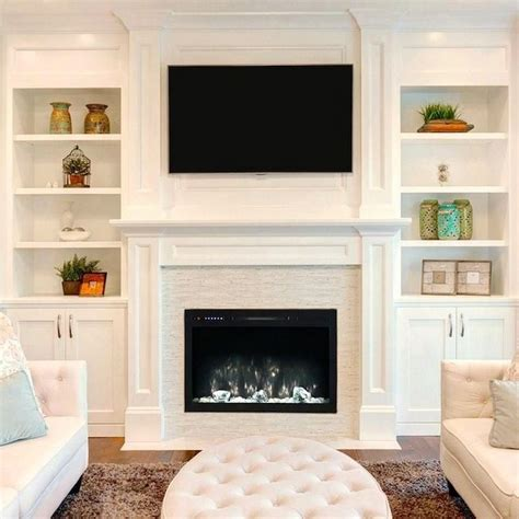 Built In Electric Fireplace - Home Design Ideas.