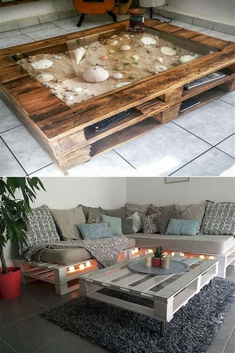 Built-in Furniture Plans In Pallets