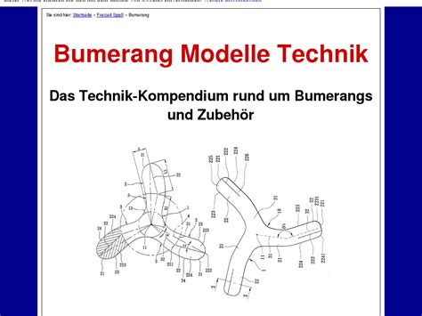 @ Bumerang Modelle Technik  Reviews Weekly.
