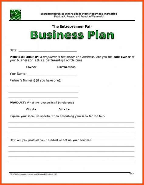 [click]business Plan Made Easy.