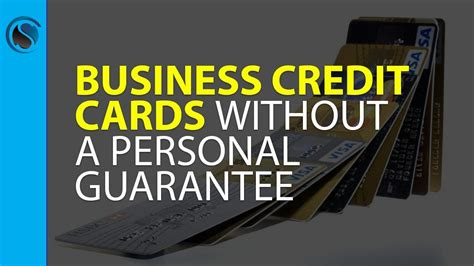 Business Credit Cards Without A Personal Guarantee Finder.com.