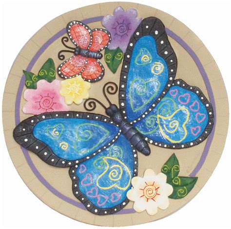 Butterfly Stepping Stones - Walmart Com.