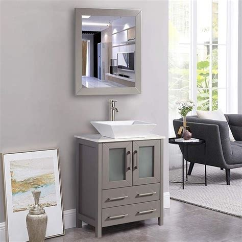 Buy Bathroom Vanities  Vanity Cabinets  - Overstock Com.