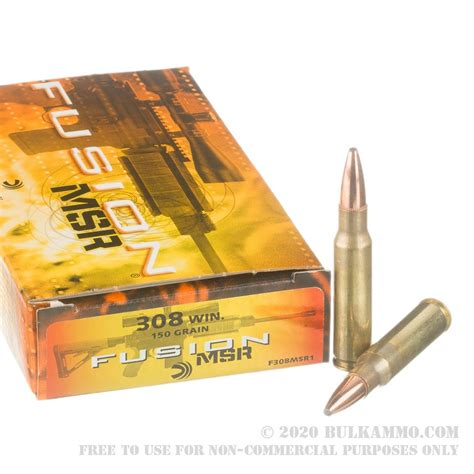 Buy Bulk 308 Win Ammo Online At Bulkammo Com.