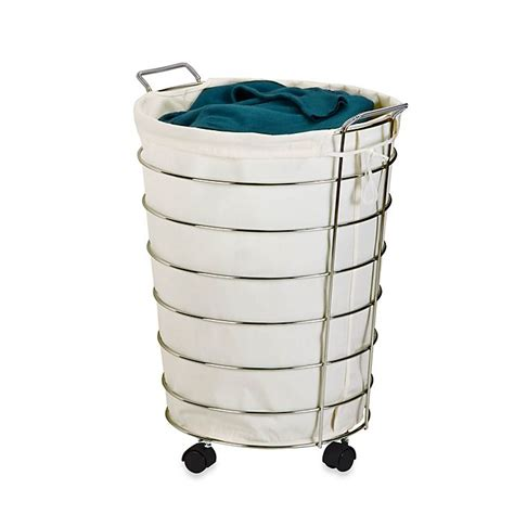 Buy Chrome Hamper From Bed Bath  Beyond.