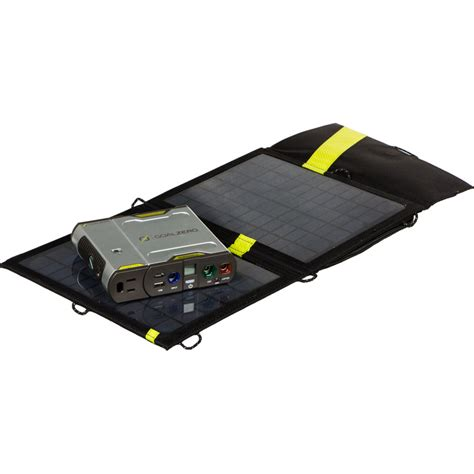 Buy Goal Zero Sherpa 50 Solar Recharging Kit With 110v .