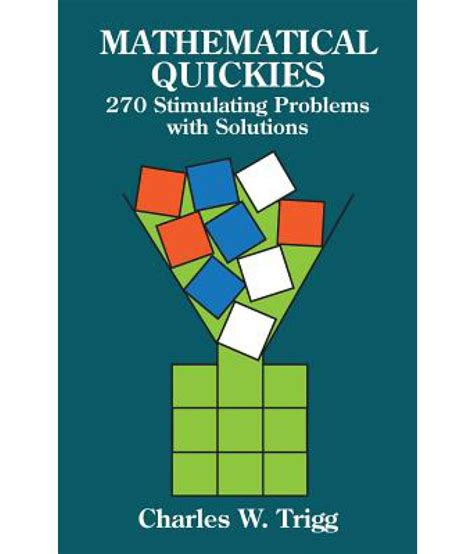Buy Mathematical Quickies & Trickies: Volume 1 Book Online At Low.