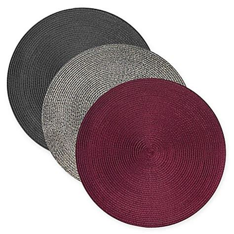 Buy Round Woven Placemats From Bed Bath  Beyond.