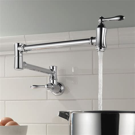 Buy Wall Mount Pot Filler Kitchen Faucets Online At .