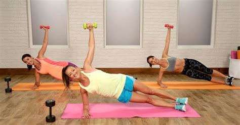 Bye-Bye, Bra Bulge! Your 10-Minute Workout Dumbbell - Popsugar.