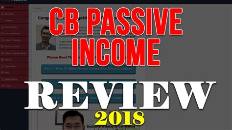 @ Cb Passive Income Review 2019 With Killer Bonus .