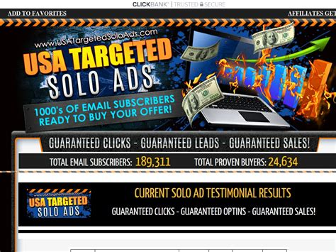 Cb Solo Ad Blaster - Get 5000+ Clicks - Sales Guaranteed! Get Trial.