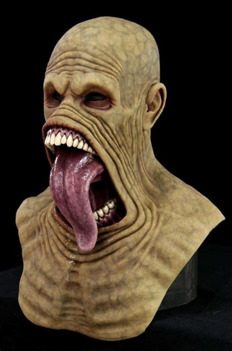 [click]cfx Masks - Silicone Halloween Horror Demon Human .