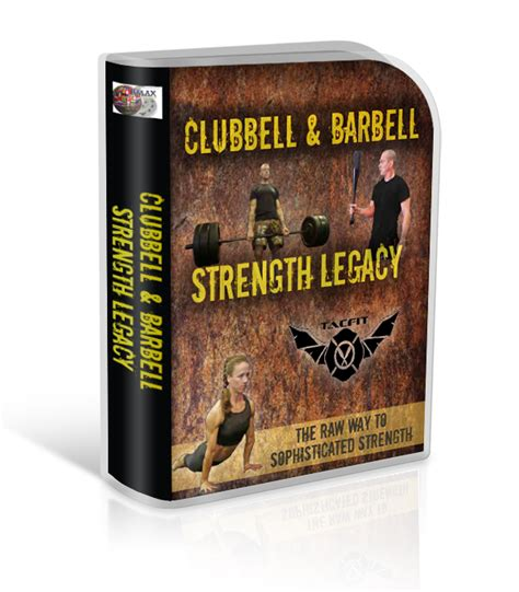 [click]clubbell  Barbell Strength Legacy - Rmax International.