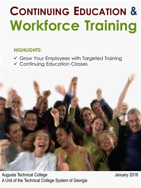 [pdf] Continuing Education  Workforce Training.