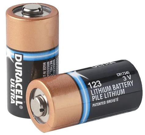 Cr123 Lithium Battery Information .