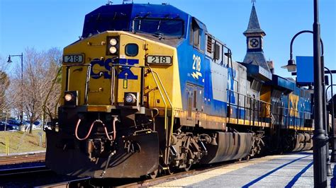 CSX Freight Train YouTube