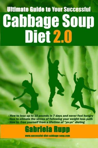 [click]cabbage Soup Diet 2 0 The Ultimate Guide - Black White .