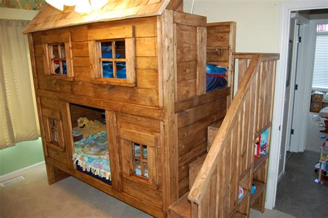 Cabin Bunk Bed Plans