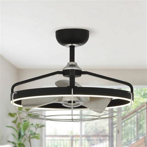 Caged Ceiling Fan With Light  Wayfair.